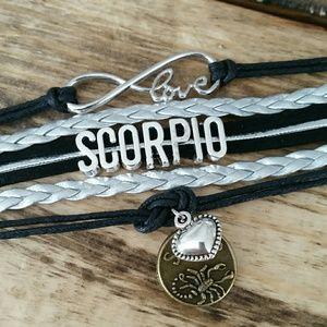 Scorpio bracelet!  For the passionate Scorpio!
